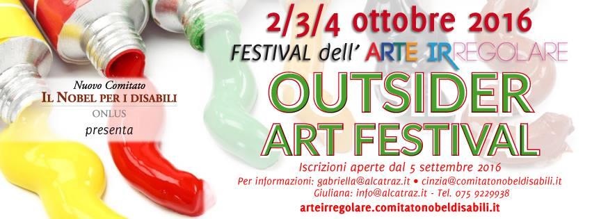 2-4 ottobre, Libera Università di Alcatraz, Festival dell'Arte Irregolare