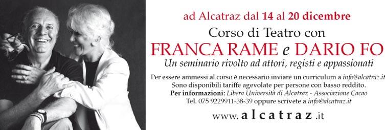 Dario Fo Franca Rame Corso Teatro Alcatraz