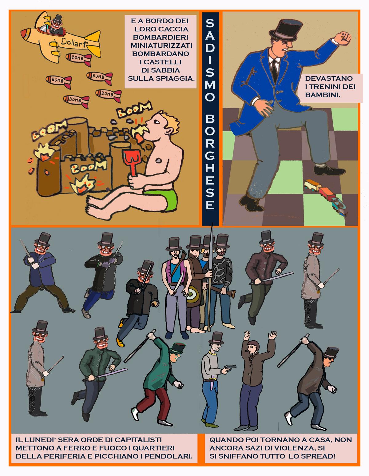Fumetti Jacopo Fo Capitalisti cattivi 2