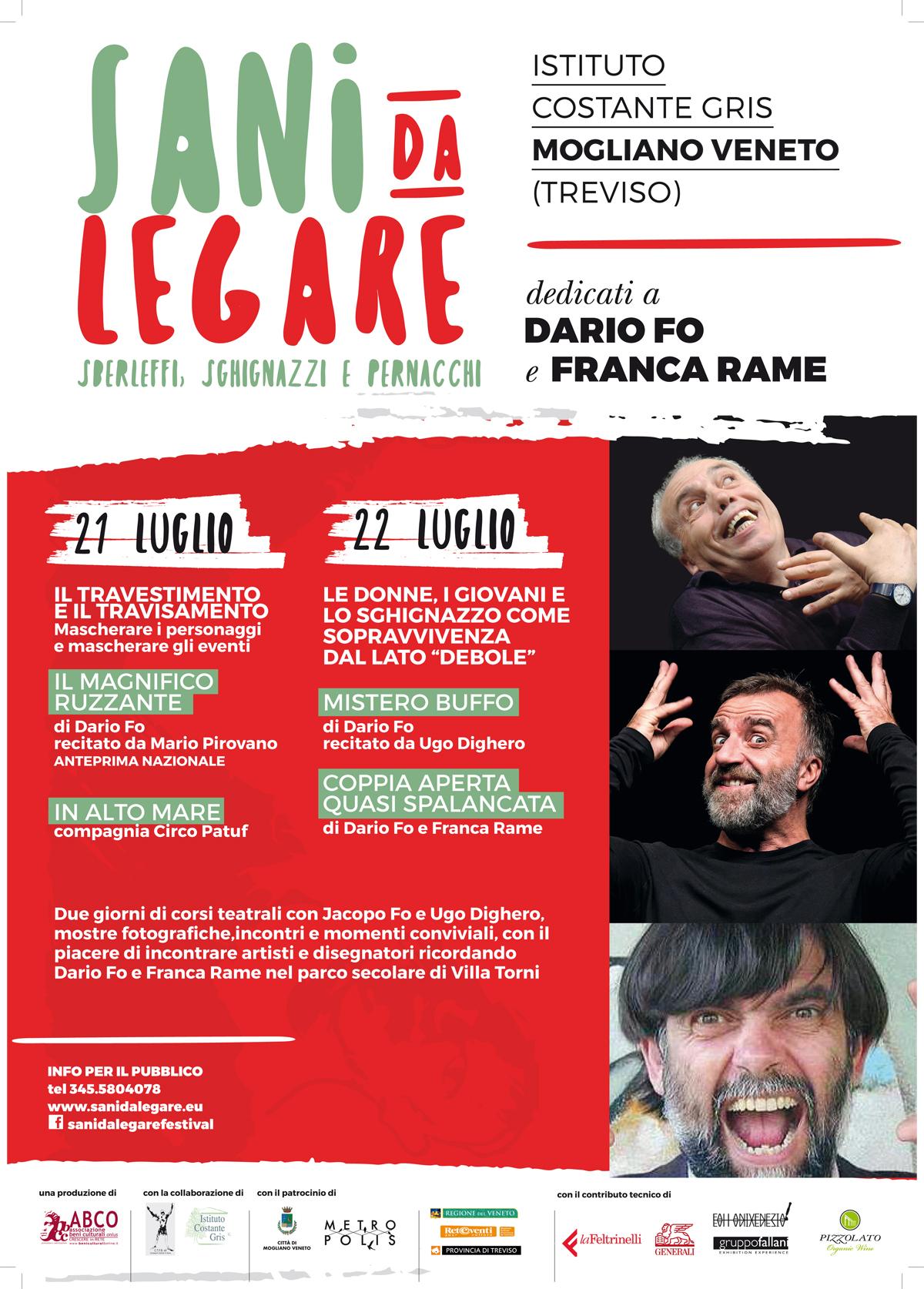 Festival Sani da Legare 2017
