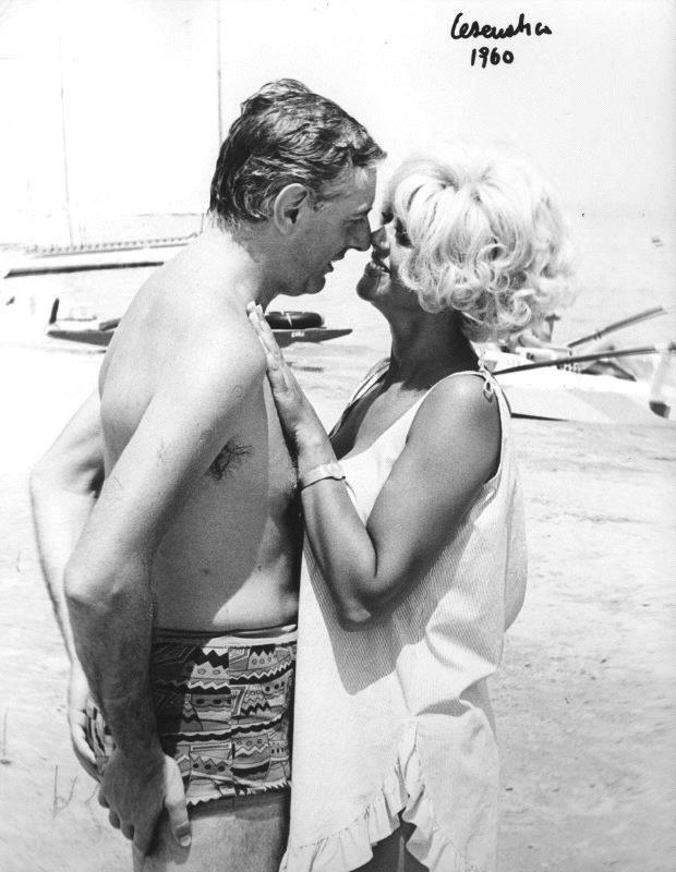 Dario Fo e Franca Rame Cesenatico 1960