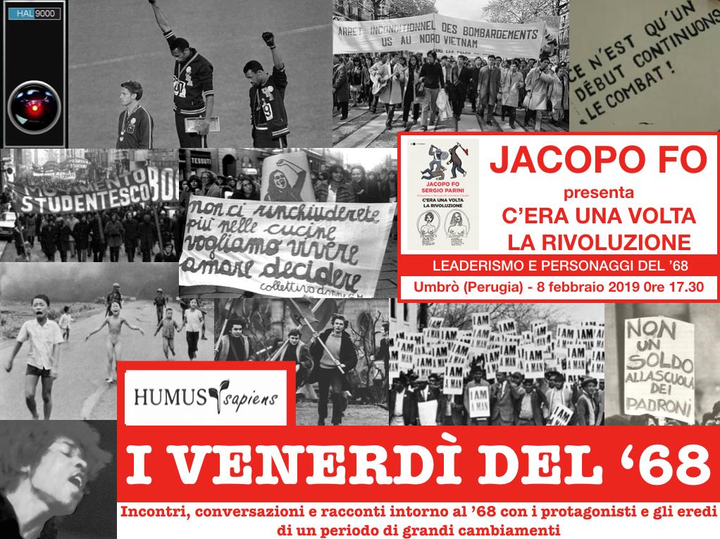 Perugia: Jacopo Fo presenta C'era una volta la Rivoluzione
