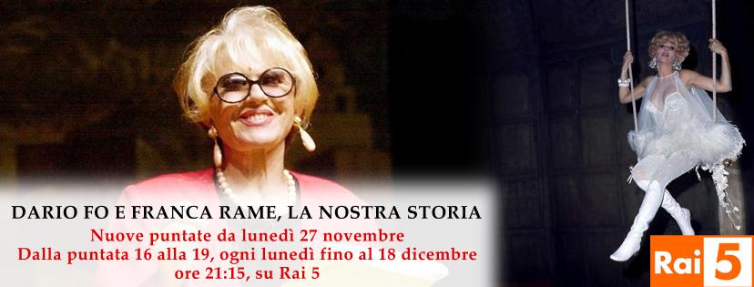 13 ottobre 2017 - Torino: Omaggio a Dario Fo e Franca Rame