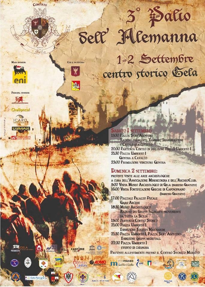 3ª edizione del Palio dell'Alemanna a Gela