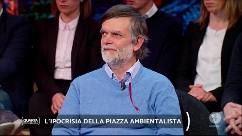 Jacopo Fo ospite a Quarta Repubblica - puntata del 18/03/2019