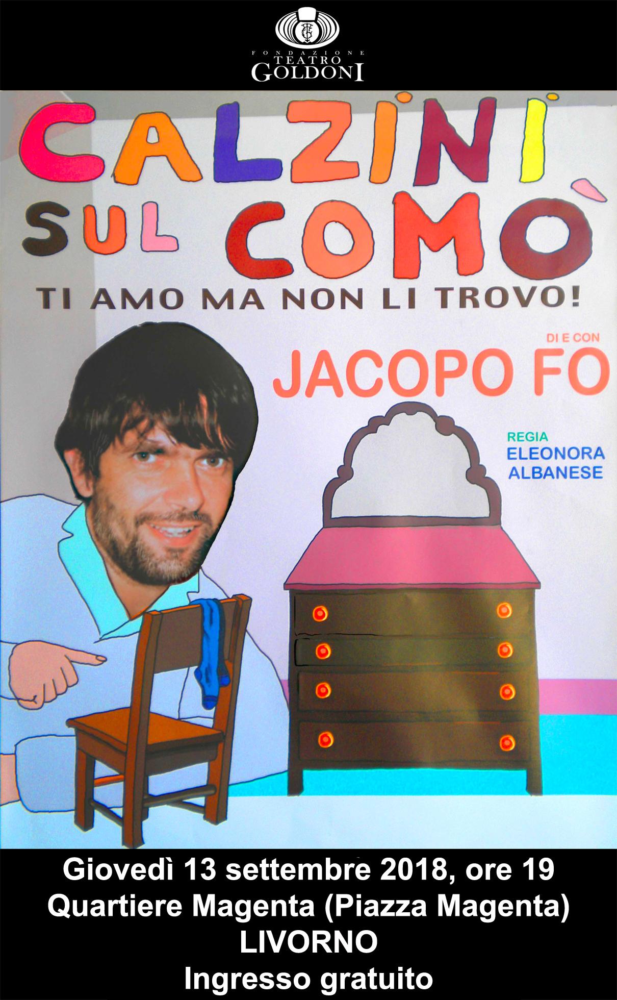 Jacopo Fo teatro Livorno