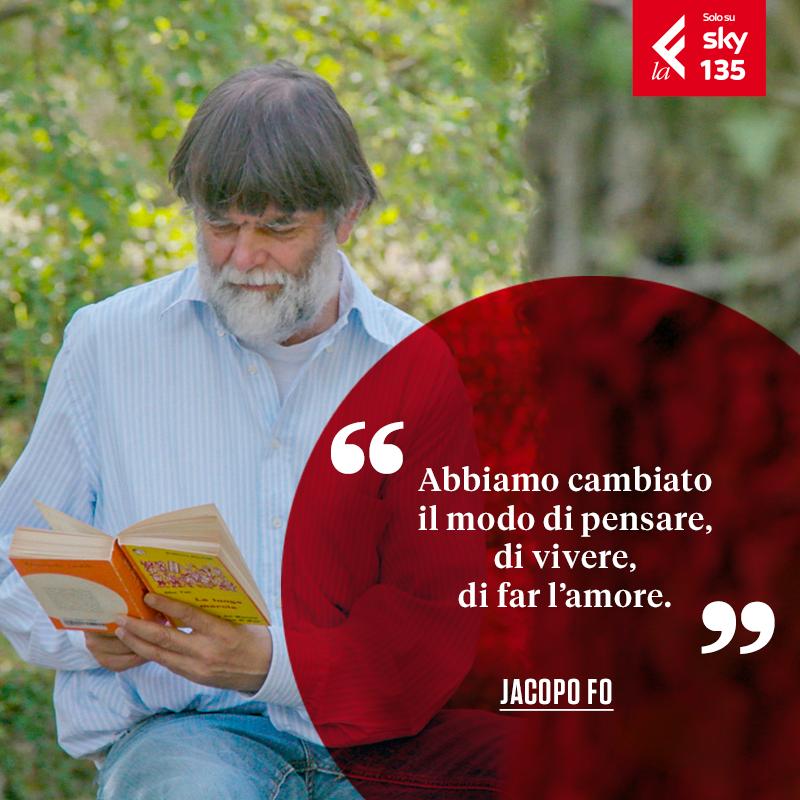 Lettori '68 - Libri per cambiare il mondo: Jacopo Fo a LaF TV